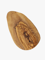 Olive Wood Oval Board