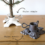 Cast Iron Mini Christmas Tree Stand