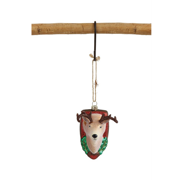 Deer Mount Ornament