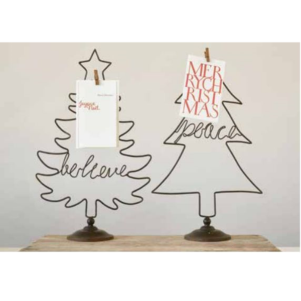 Wire Tree Shaped Card/Photo Holder