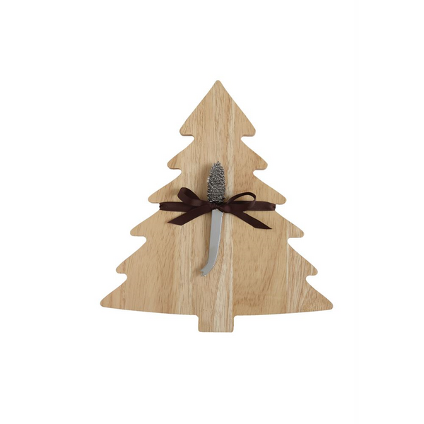 Tree Shaped Board w/ Pine Cone Spreader