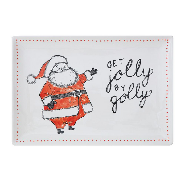 Get Jolly By Golly Ceramic Platter