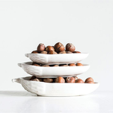 Ceramic Acorn Dish Set