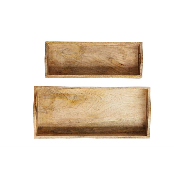 Mango Wood Trays Set
