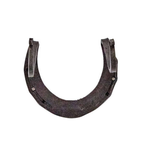 Hand-Forged Iron Horseshoe Wall Hook