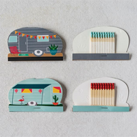 Camper Matchbook & Safety Matches