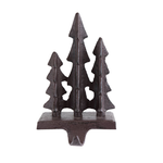 Cast Iron Trees Stocking Holder