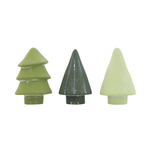 Assorted Green Cement Trees - Small