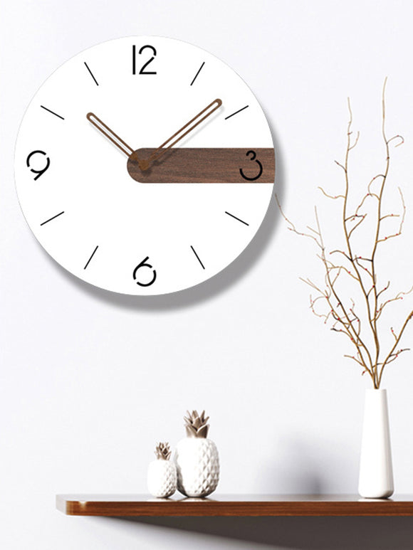 Round Contemporary Wall Clock - Level Up Decor