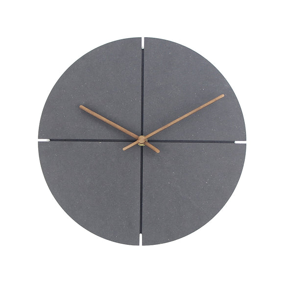 Artistic European Wooden Wall Clock - Level Up Decor