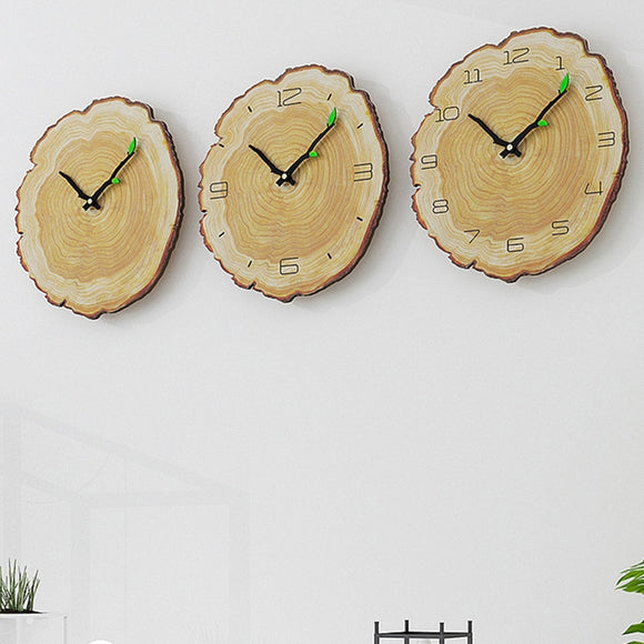 Vintage Wooden Clock - Level Up Decor