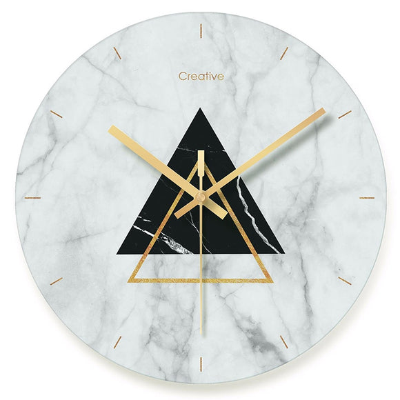Botique-Modern Minimalist Wall Clocks Large Nordic Art Mute Wall Clock for Home - Level Up Decor
