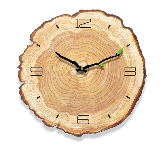 Decorative Vintage Wooden Clock - Level Up Decor