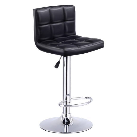 Leather Barstools Bistro Pub Chair - Level Up Decor