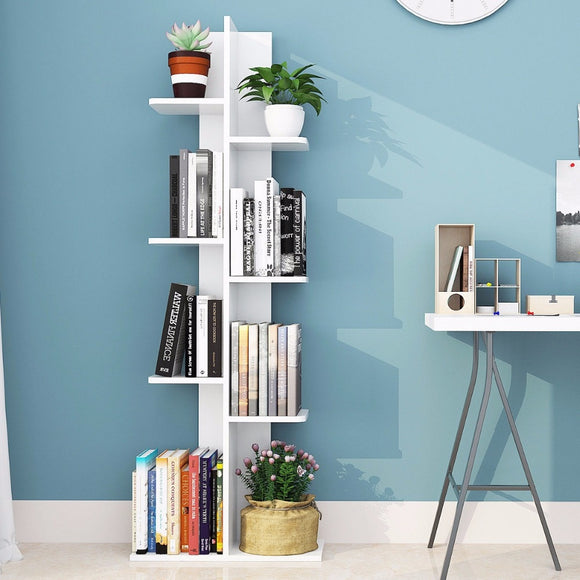 Open Concept Bookcase Plant Display - Level Up Decor