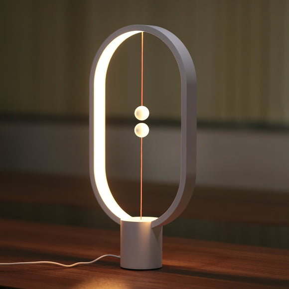 Magnetic Balance Table Lamp - Level Up Decor