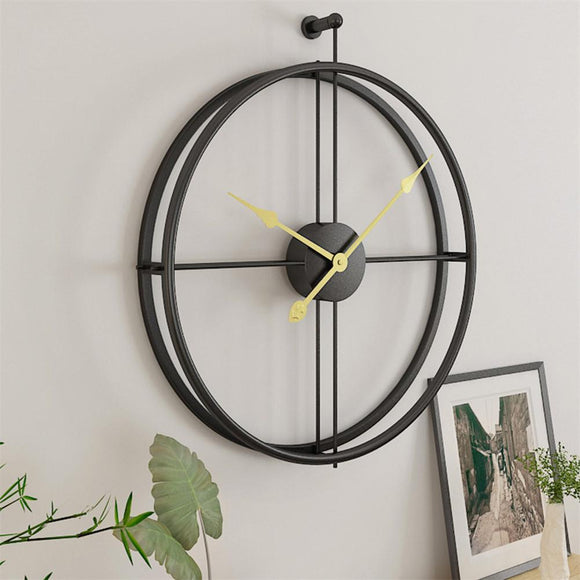 Simple European Mute Wall Clock - Level Up Decor