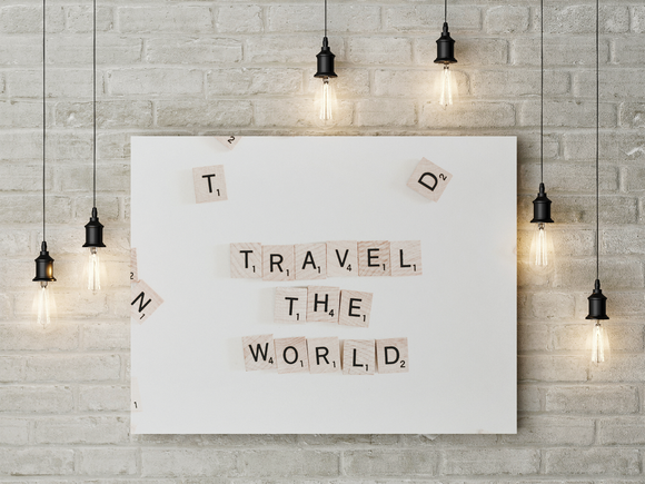Travel The World - Level Up Decor