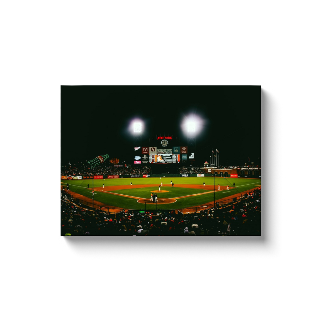 Night Time Baseball - Level Up Decor