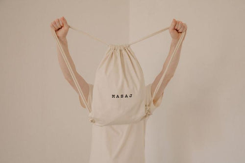 MASAJ Drawstring in Cream