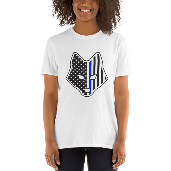 Thin Blue Line Short-Sleeve Unisex T-Shirt