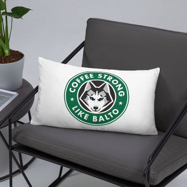 Coffee Strong Pillow