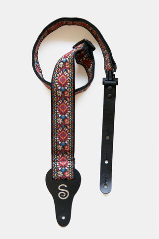 Sidewinder Strap: Jacquard Weave - Red
