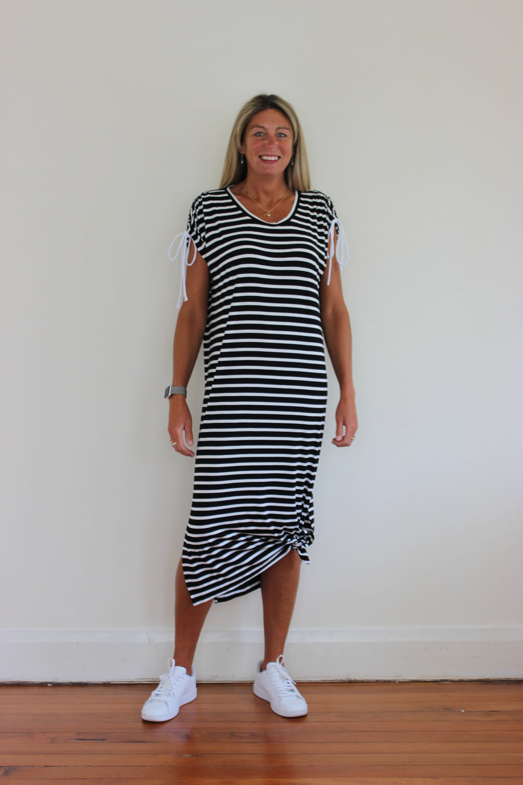 Raven Dress - Stripe