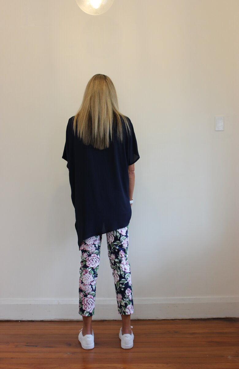 Flower power pant - Pink