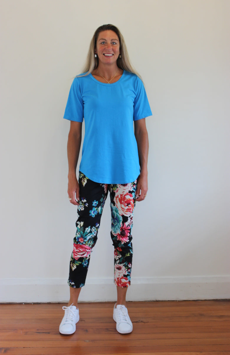 Belle Tee - Turquoise