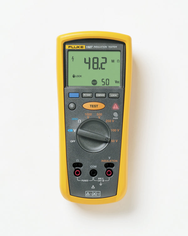 Fluke 1507 Insulation Tester - QLD Calibrations