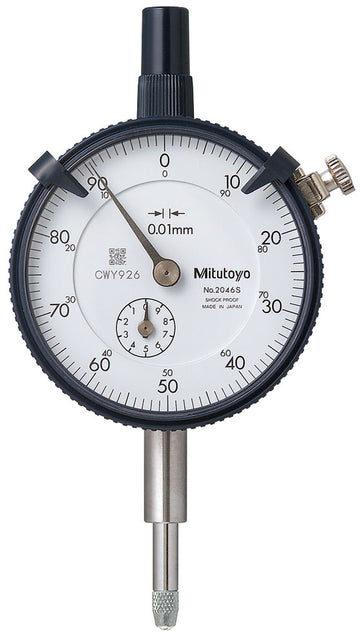 Mitutoyo 2046S Dial Indicator, 10mm