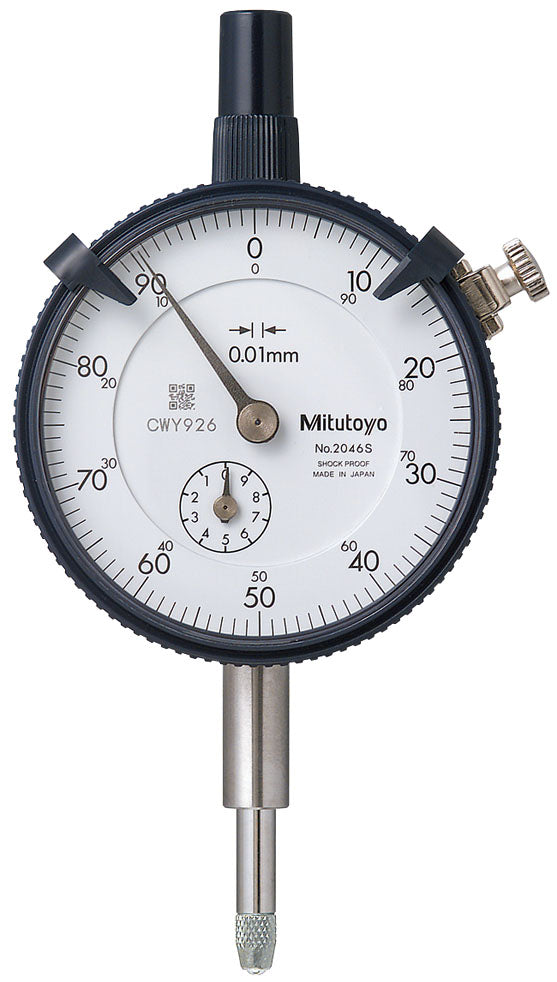 Mitutoyo 2046S Dial Indicator, 10mm - QLD Calibrations