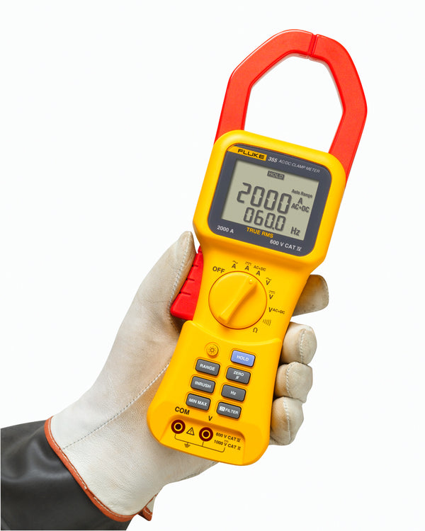 Fluke 355 True RMS 2000 A Clamp Meter - QLD Calibrations