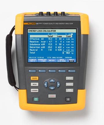 Fluke 435 Series II Power Quality Analyser