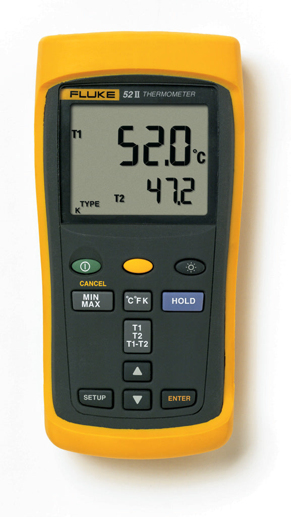 Fluke 52 II Dual Probe Digital Thermometer - QLD Calibrations