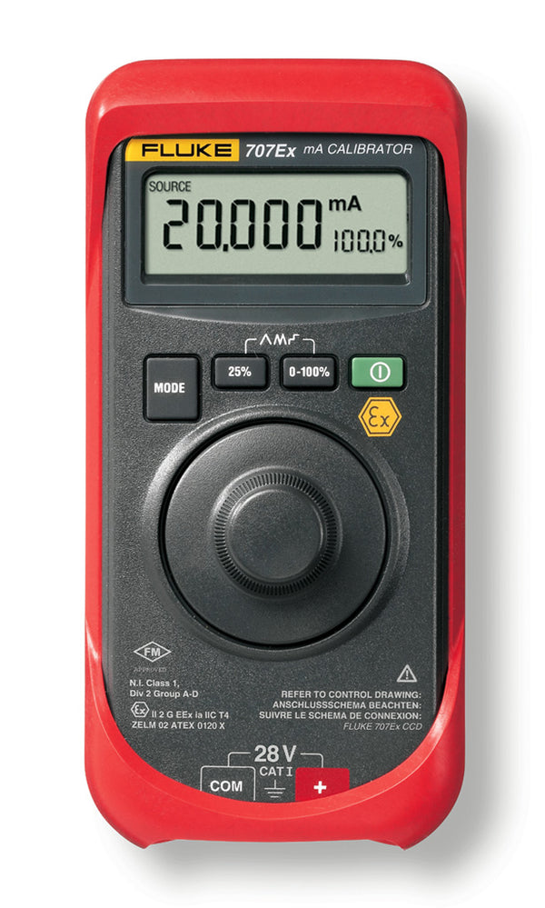 Fluke 707Ex Intrinsically Safe Loop Calibrator - QLD Calibrations