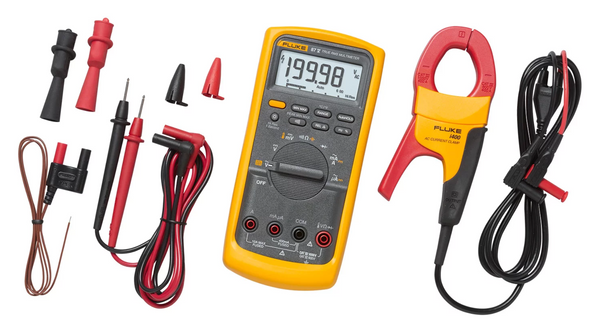 Fluke 87V IMSK Industrial Multimeter Service Combo Kit - QLD Calibrations