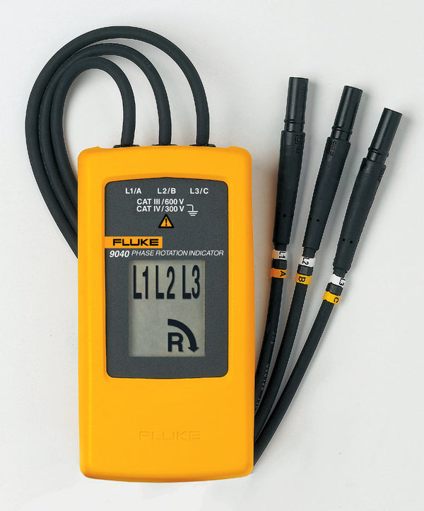Fluke 9040 Phase Rotation Indicator - QLD Calibrations