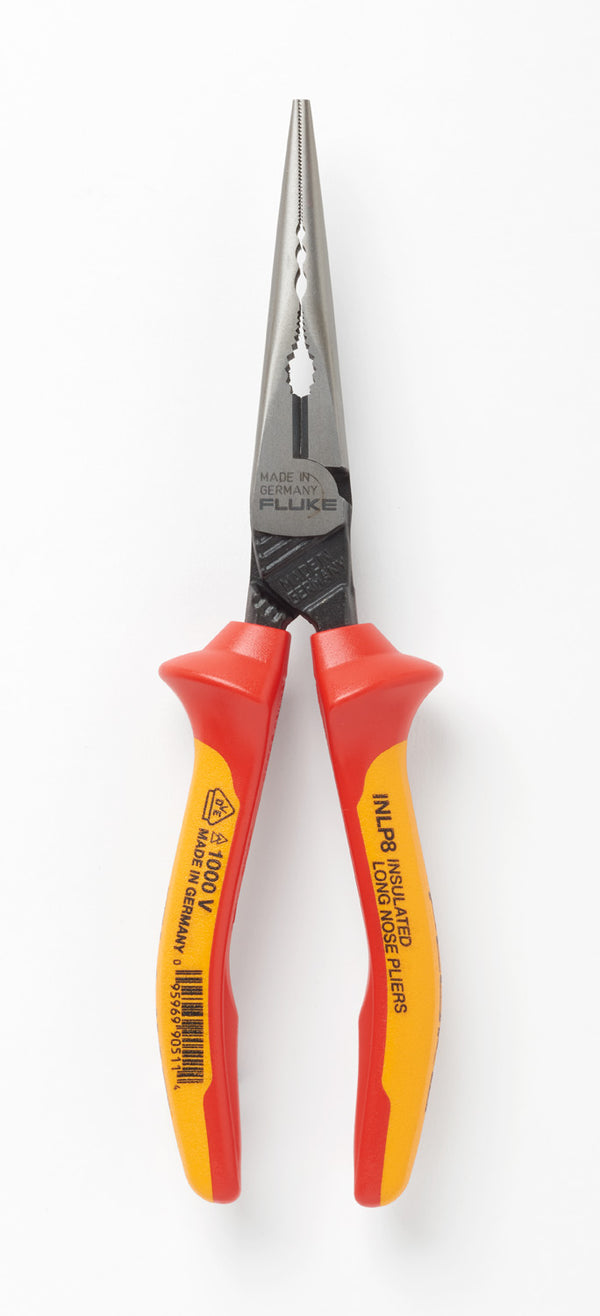 Fluke INLP8 Insulated Long Nose Pliers - QLD Calibrations