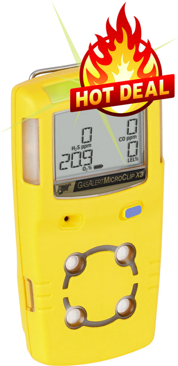 Honeywell Microclip X3 Multi Gas Detector