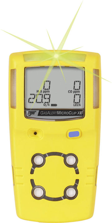Honeywell MicroClip XL Multi Gas Detector