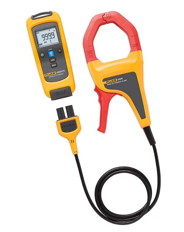 Fluke a3003 FC Wireless 2000 A DC Current Clamp Meter - QLD Calibrations