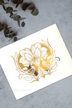 Load image into Gallery viewer, Til Death Do Us Part Gold Foil Print - Curiobella