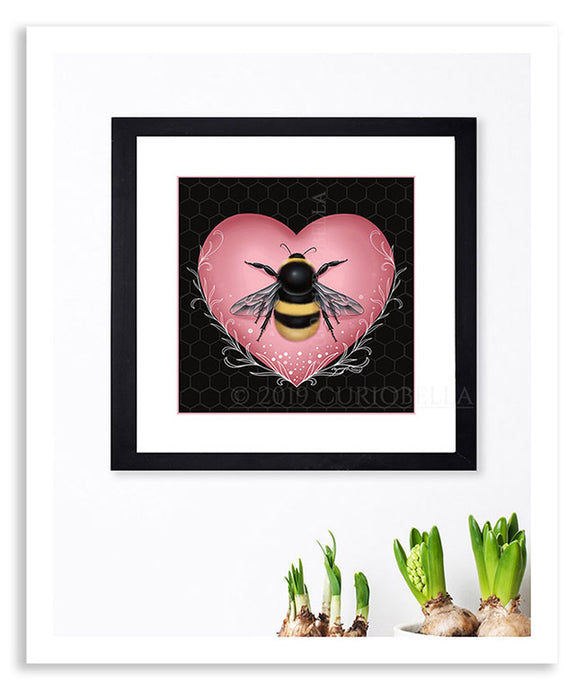 Small Bee Giclée Print