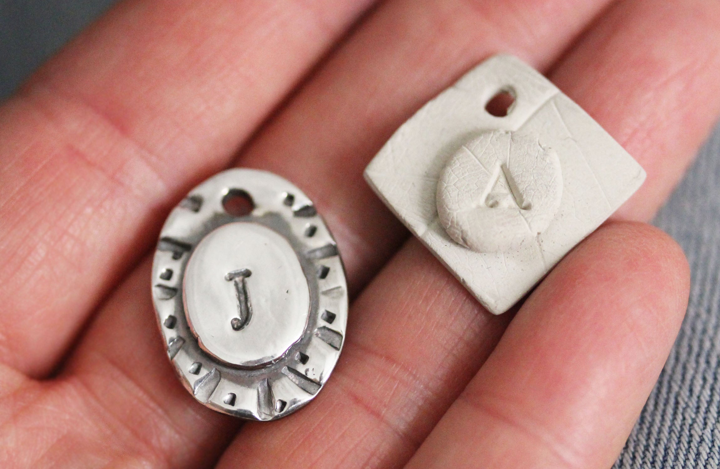 Make Your Own Monogrammed Charm Workshop