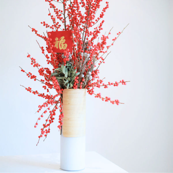 East Pavilion DIY: Floral Arrangements for Chinese New Year