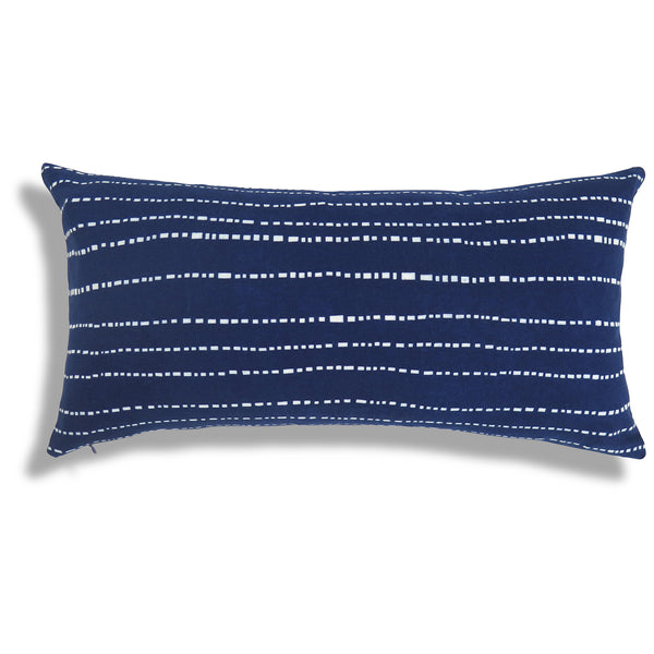 Baby Teeth Pillow in Indigo