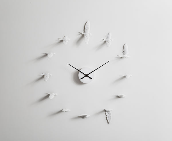 Swallows Clock O-Form