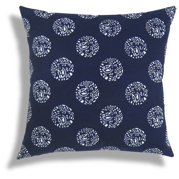 Dot Dot Dot Pillow in Indigo